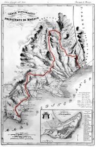 Territoire de la Principauté de Monaco, avant 1860